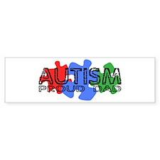 Autism - Proud Dad Bumper Bumper Stickers