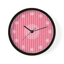 Red Ticking Clock