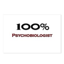 100 Percent Psychobiologist Postcards (Package of