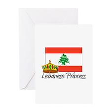 Lebanese Princess Greeting Card