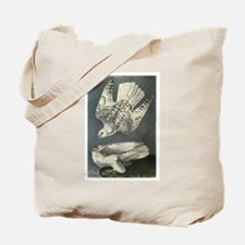 Gyrfalcon art Tote Bag