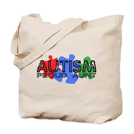 Autism - Proud Aunt Tote Bag