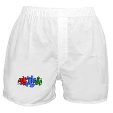 Autism - Proud Aunt Boxer Shorts
