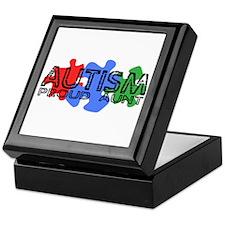 Autism - Proud Aunt Keepsake Box