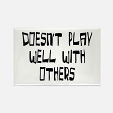 play with others Rectangle Magnet (10 pack)