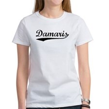Vintage Damaris (Black) Tee