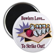 Bowlers Love... Magnet