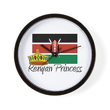 Kenyan Princess Wall Clock