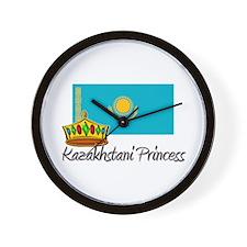 Kazakhstani Princess Wall Clock
