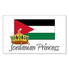 Jordanian Princess Rectangle Decal