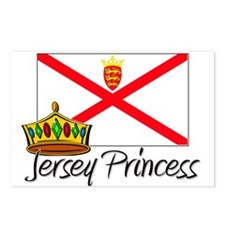 Jersey Princess Postcards (Package of 8)