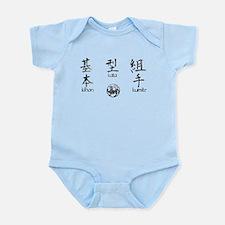Kihon, Kata, Kumite Infant Bodysuit