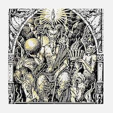 Cool Metal Tile Coaster