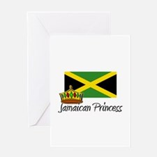 Jamaican Princess Greeting Card
