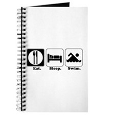 Eat. Sleep. Swim. Journal
