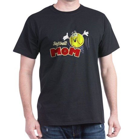 Softball Mom Dark T-Shirt