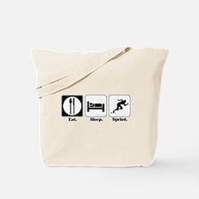 Eat. Sleep. Sprint. Tote Bag