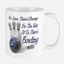 Bowling Therapy Coffee Cup