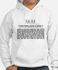 everything I need to know in life-Karate Hoodie