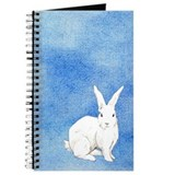 White rabbit Journals & Spiral Notebooks