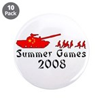 "2008 Summer Games 3.5"" Button (10 pack)"