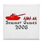2008 Summer Games Tile Coaster