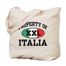 Property of Italia Tote Bag