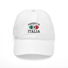 Property of Italia Baseball Baseball Cap