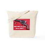 Free Men Own Guns Tote Bag
