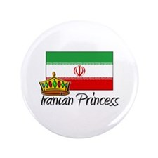"Iranian Princess 3.5"" Button"