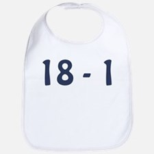 Giants Super Bowl Champs (18-1) Bib