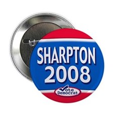 2008 Al Sharpton Text Button