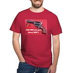 FREE MEN own guns Dark T-Shirt