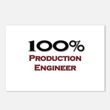 100 Percent Production Engineer Postcards (Package