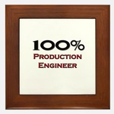 100 Percent Production Engineer Framed Tile