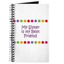 My Sister is my Best Friend Journal