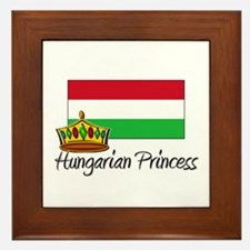 Hungarian Princess Framed Tile
