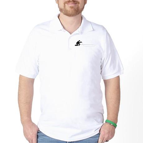 """""""Universal Angler"""" Golf Shirt"""