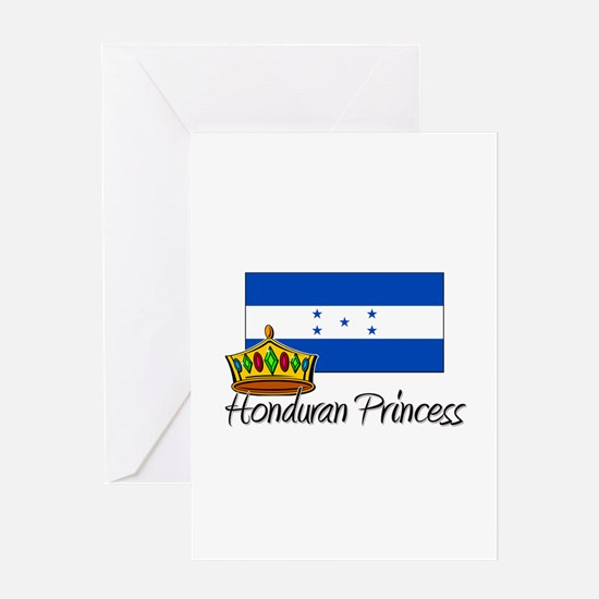 Honduran Princess Greeting Card
