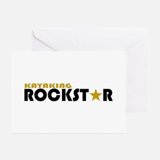 Kayaking Rockstar Greeting Cards (Pk of 10)
