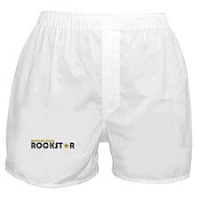 Mountain Biking Rockstar Boxer Shorts