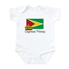 Guyanese Princess Infant Bodysuit