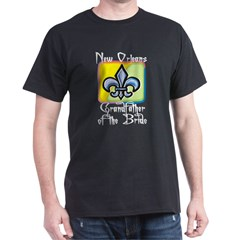 New Orleans Grandfather of the Bride T-Shirt