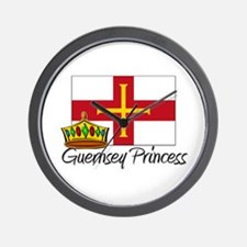 Guernsey Princess Wall Clock