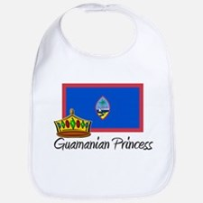 Guamanian Princess Bib
