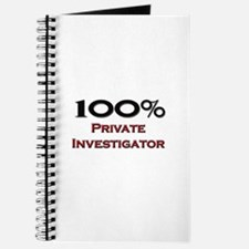 100 Percent Private Investigator Journal