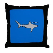 LandShark Throw Pillow