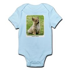 Swedish Vallhund Puppy 9Y165D-173 Infant Bodysuit