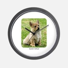 Swedish Vallhund Puppy 9Y165D-173 Wall Clock