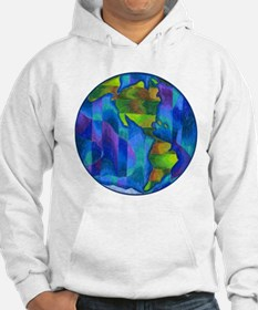 Planet Earth Art Hoodie
